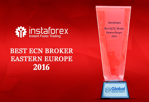Best ECN Broker Eastern Europe 2016 by Global Business Outlook InstaForex was presented with the award as the Best ECN Broker