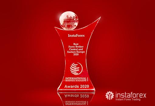 ИнстаФорекс – лучший Форекс брокер  Центральной и Восточной Европы 2020 ИнстаФорекс пополнила коллекцию престижных наград