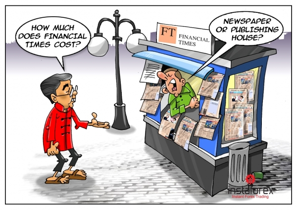 The Japanese bought the British newspaper Financial Times at a record price of $1.3 billion. Japanese corporation Nikkei specializing in issuing business magazines has become a new owner of the legendary periodical. Sources close to the process of negotiations... <a href=https://www.instaforex.com/forex_humor/forex_image.php?id=19136>&raquo; Read more</a>