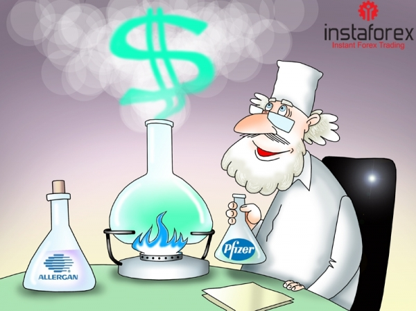 Pharmaceutical companies Pfizer Inc. and Allergan PLC have decided to combine to form a global drug behemoth.  The $160 billion tax-inversion merger would be the largest deal ever sealed in the pharmaceutical world. The transaction is expected to be completed... <a href=https://www.instaforex.com/forex_humor/forex_image.php?id=21139>&raquo; Read more</a>