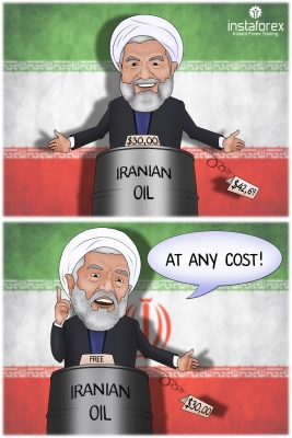 Iran is going to sell oil regardless the world prices on energy resources, Bijan Namdar Zanganeh, Oil Minister of the Islamic Republic of Iran said, according to Reuters. He pointed out that Iran must export oil, no matter if its price goes down or up... <a href=https://www.instaforex.com/forex_humor/forex_image.php?id=19699>&raquo; Read more</a>