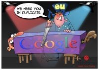 According to the European Commission inspection results, Google will have to pay 10% of the amount of the annual income. The reason for this punishment is Google&rsquo;s abuse of dominance. It gives its own services preferential treatment and ranks search... <a href=http://www.instaforex.com/lv/forex_humor/forex_image.php?id=3440>&raquo; Lasīt vairāk</a>