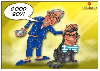 European Commission President Jean-Claude Juncker and the eurozone finance ministers for the first time cheered progress in the painstaking talks on Greece&rsquo;s rescue program. The Eurogroup assembled in Brussels for a new round of the talks. Top officials... <a href=https://www.instaforex.com/forex_humor/forex_image.php?id=17569>&raquo; Read more</a>