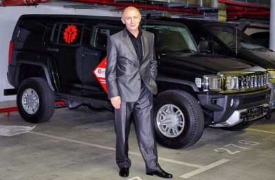 InstaForex presents Hummer H3 to the winner