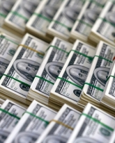 Доллар просел на 20 копеек