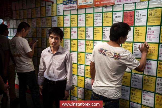 Безработица в городах Китая в июне осталась на уровне 4,8%