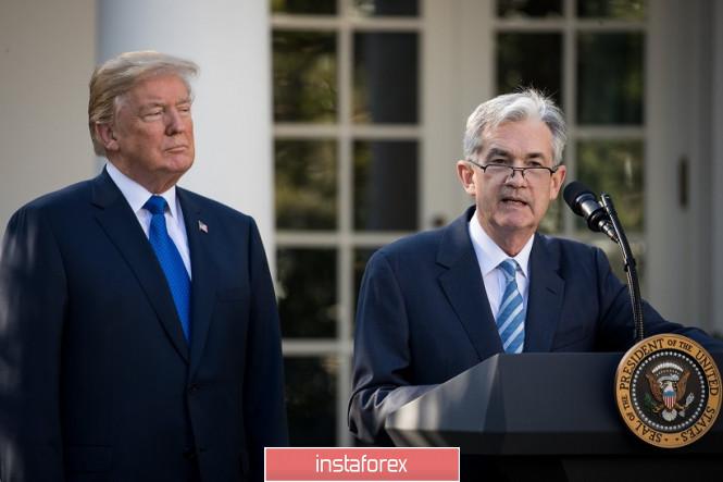 EUR/USD. Трамп снова «увольняет» Пауэлла: долларовые быки утратили северный импульс