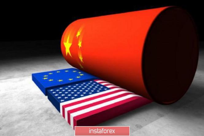 EURUSD: Одни розничные продажи не спасут ЕЦБ от необходимости понижения ставок. Китай жестко ответил Трампу