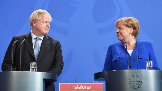 GBP/USD. Свет в конце тоннеля: Меркель спровоцировала рост британской валюты