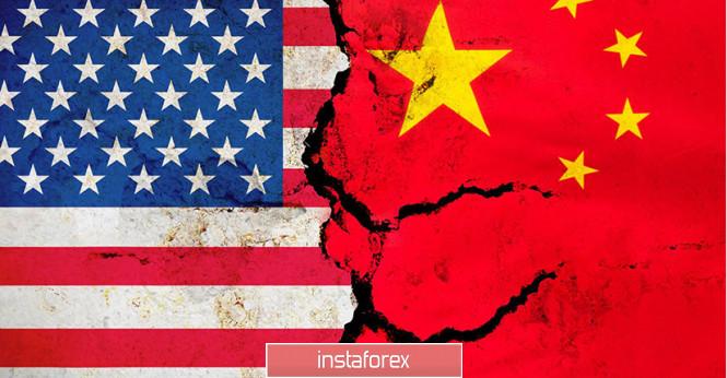 EUR/USD. Торговая война США и Китая может завершится вооруженным конфликтом.