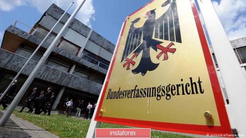 EURUSD и GBPUSD: Почему евро упал на решении Конституционного суда Германии. Данные PMI для сферы услуг не отражают всего сокращению экономики