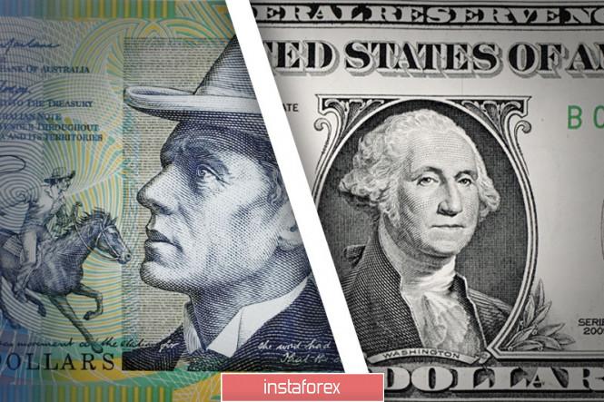 analytics5f6ade6b94bc3 - AUD/USD. Австралиец следует за долларом: цель – 0,7000